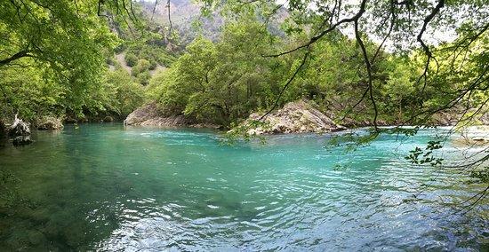 Epirus, Greece: Каньон Викос