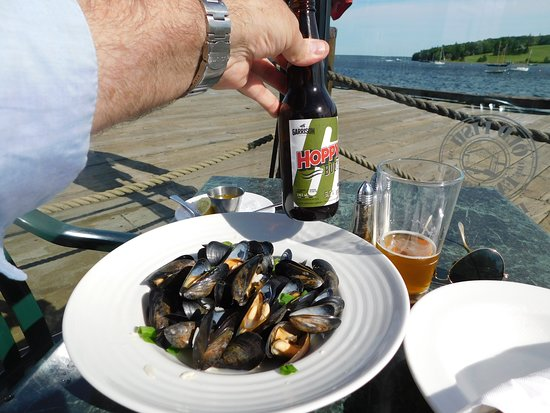 The Old Fish Factory Restaurant: With some mussels ...