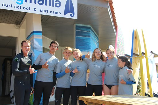 Boardingmania Surf School: happy faces