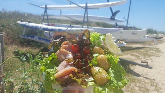 La Mano Negra Restaurant: Salade neptune noirmoutier sur place ou à emporter