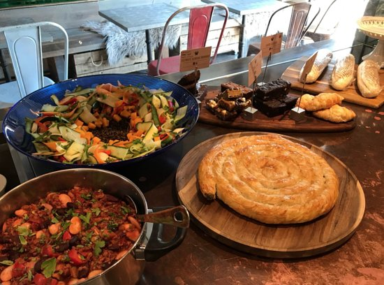 The Wellbeing Cafe: Spinach & Filo Pastry