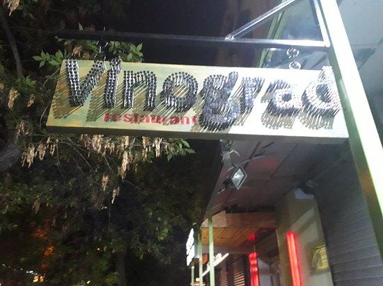 Vinograd signage