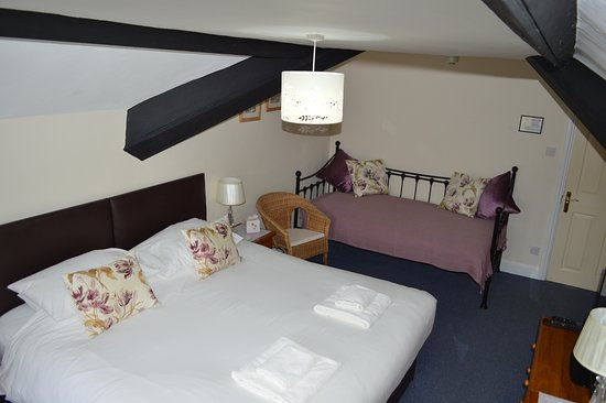 Simonsbath, UK: One of our rooms