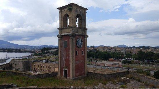 Old Fortress Corfu: Башня с часами