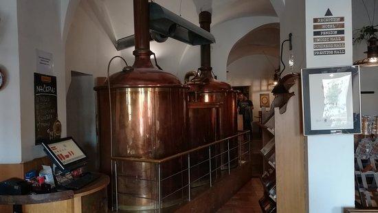Pivovar Černý Orel: tanky