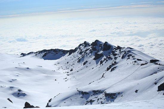Intrepid Explorer Tanzania: Mount Kilimanjaro summit glacier