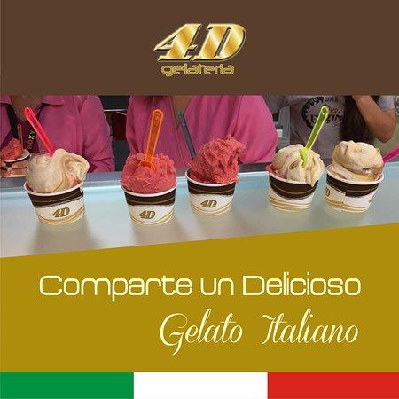 4D Gelateria: Compartir... Gelato Italiano