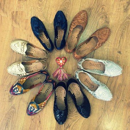 Micuari Arte & Diseno Mexicano: Huaraches  (sandalias) artesanales de cuero.
