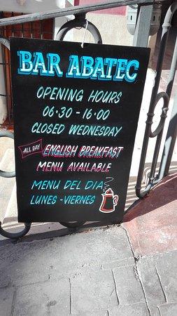 Relleu, Испания: opening hours