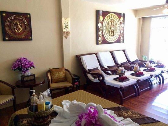 Lamai Beach, Thailand: chanjira traditional thai massage