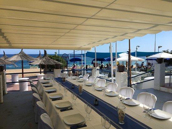 Restaurant Banys La Gavina: Dinars