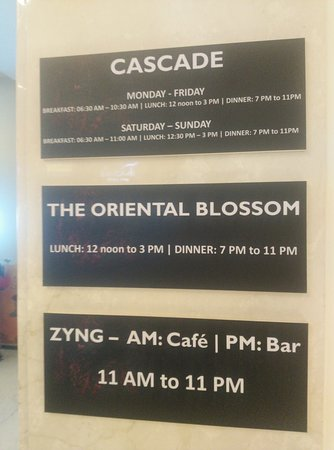 Cascade: Timings