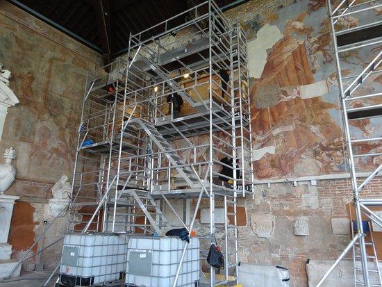 Camposanto: en pleine restauration