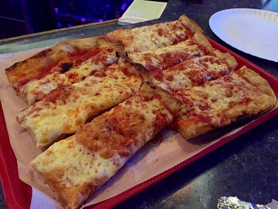 Avoca, PA: Half Tray of Pizza
