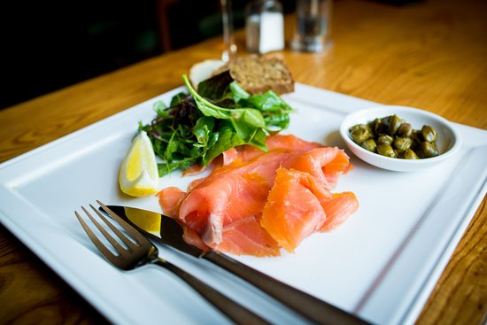Burren Smoked Salmon in the Roadside Tavern