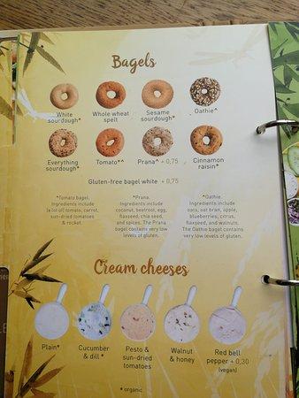Karte 2 Picture Of Bagels Beans Amsterdam Tripadvisor