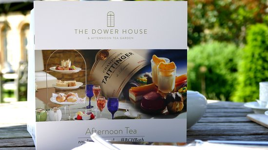 The Dower House: The menu of teas and other delights ...