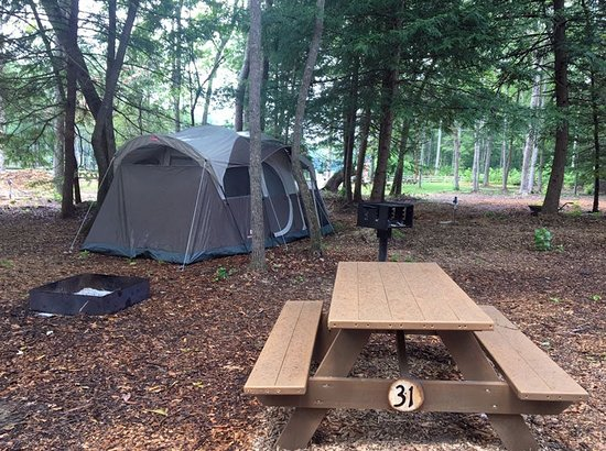 Cookeville, TN: Old Mill Camp has 12 Primitive Tent Sites. Lots of Trees for Shade and Hammocking.