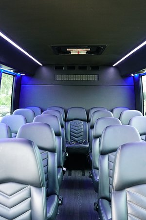 Fly Limousine Services: Brand New 24 Passenger Corporate Bus (2018)