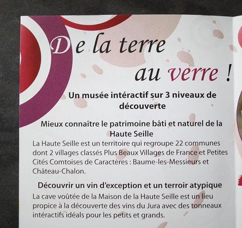 Le flyer de la Maison de la Haute Seille