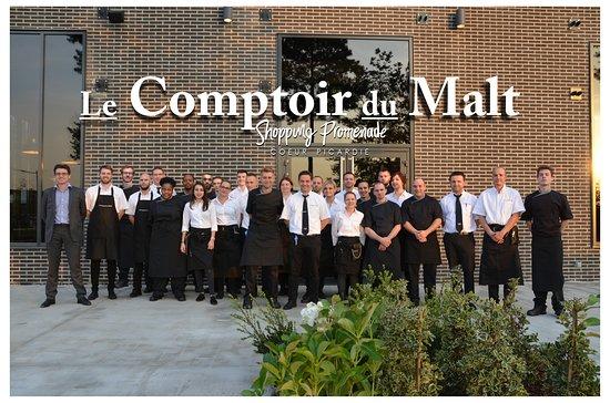 Le Comptoir du Malt: Notre équipe au complet