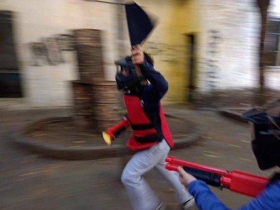 Niterói Paintball: emocao da bandeira