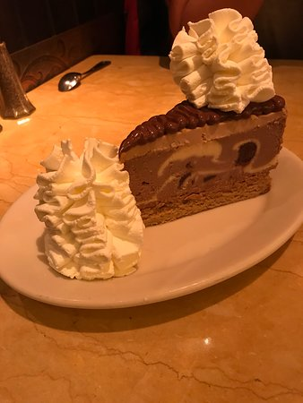 The Cheesecake Factory: Nosso pedido!