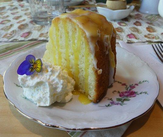 Tyne Valley, كندا: Lemon pound cake