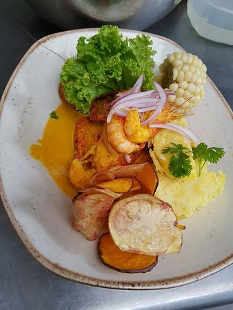 Palpa, Peru: La única cecina hecha en el sur!!!! Comida criolla y camarones!!!!