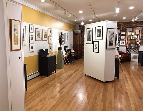 Green Lion Gallery: Inside the Green Lion.  Exhibits are always changing!