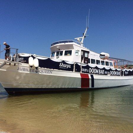 Jubilee boat trip padstow webcam