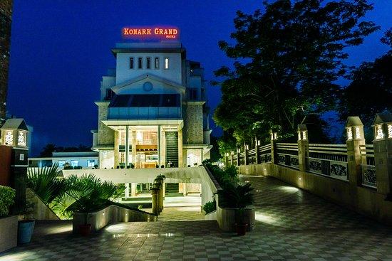 Mirzapur District, Indien: HOTEL ENTRANCE