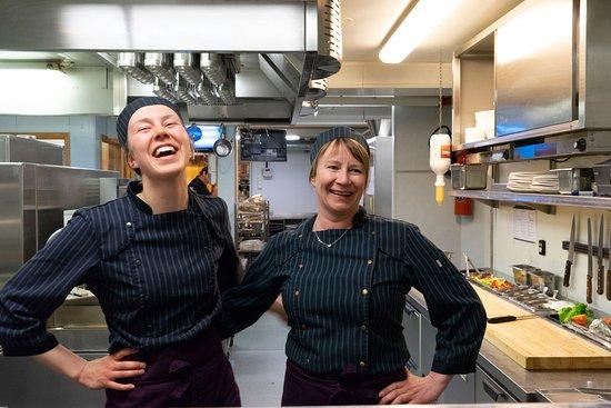 Nordkjosbotn, Norway: Happy chef's