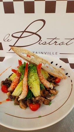 Le Bistrot - Casino Partouche d'Agon-Coutainville: Un des plat à la carte