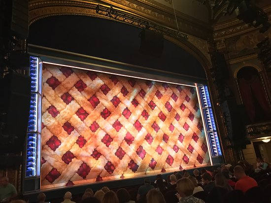 Cherry pie stage backdrop - Picture of Brooks Atkinson
