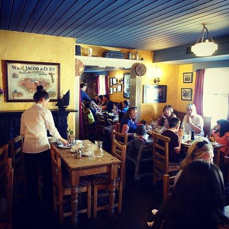 Morans Oyster Cottage : Salle à manger