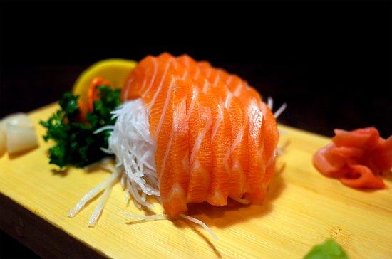 Izakaya NoMad: Salmon Sashimi