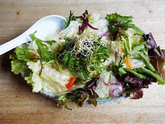 Izakaya NoMad: Seaweed tofu salad