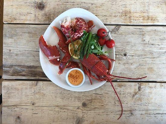 Stoke Fleming, UK: Grilled Lobster