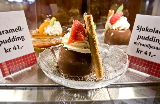 Nordkjosbotn, Norway: Dessert