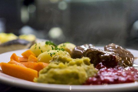 Nordkjosbotn, Norway: Meat rissoles