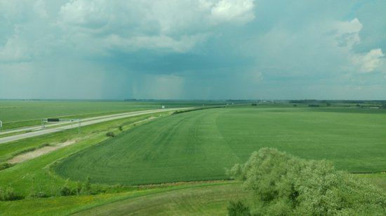 Pembina, Dakota Północna: A View Across To Manitoba