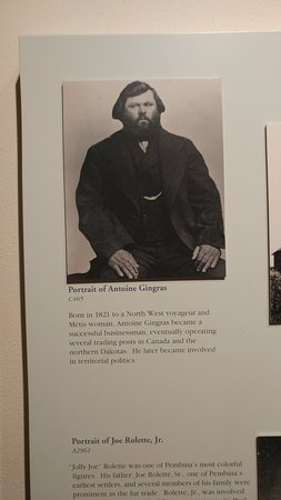 Pembina, Dakota Północna: One of the many stories of interesting pioneer men and women who first populated the area.