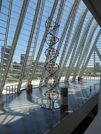 Ciudad de las Artes y las Ciencias: Struttura del DNA