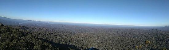 Genoa, Australia: Panoramic view from top