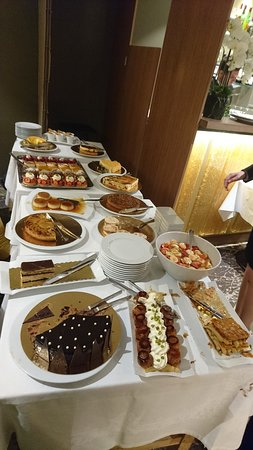 Restaurant Vatel: Buffet de desserts
