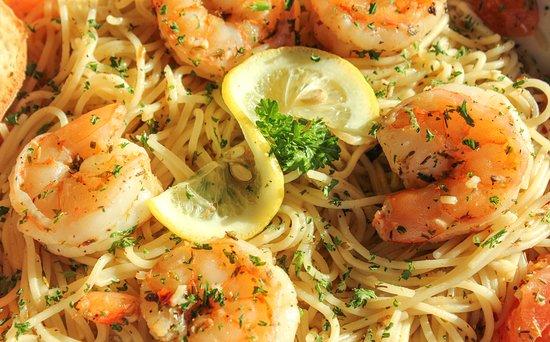 Coal Fire: Garlic Shrimp