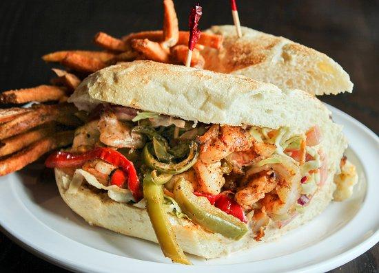 Coal Fire: Cajun shrimp