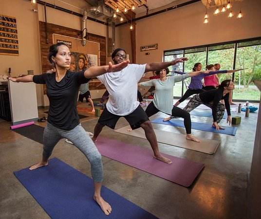 Caboose Tavern: Yoga, Wednesday mornings 10am at Caboose, $10 all levels welcome