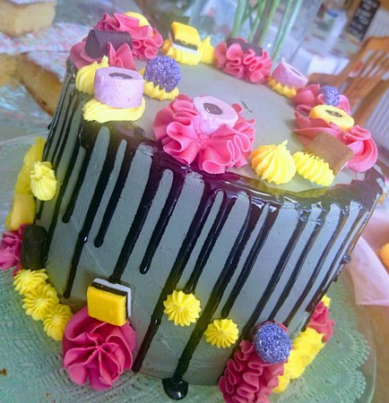 Charms Treats Liquorice Allsorts Cake Pretty Birthday